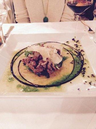 Taverna Ripetta : sliced beef - delicious