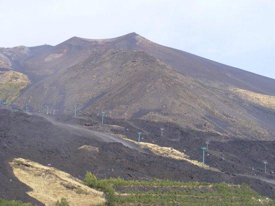 Etna Cable Car Picture Of Monte Etna Catania Tripadvisor