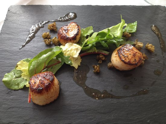 Penhelig Arms: Scallops