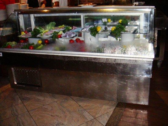 Gloria Verde Resort: 5 Ужин - выбор для персональной жарки