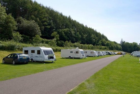 Exebridge Caravan Club Site