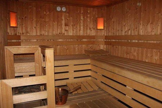 Savoia Palace Hotel : Sauna del SPH