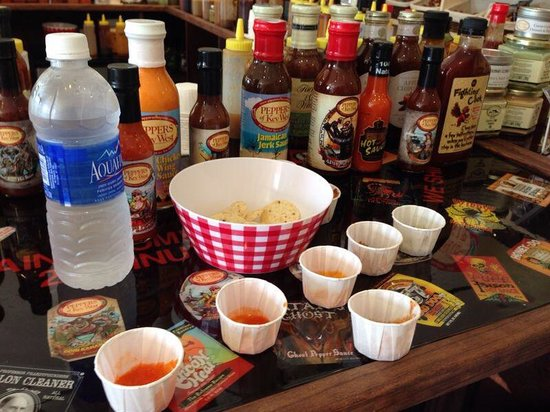 Peppers of Key West: Hawt sauces!!