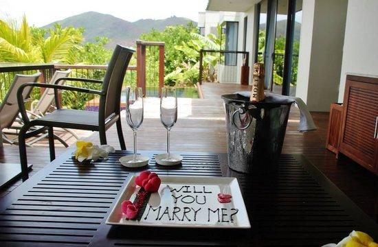 Anse Takamaka, Seychelles: Amazing service