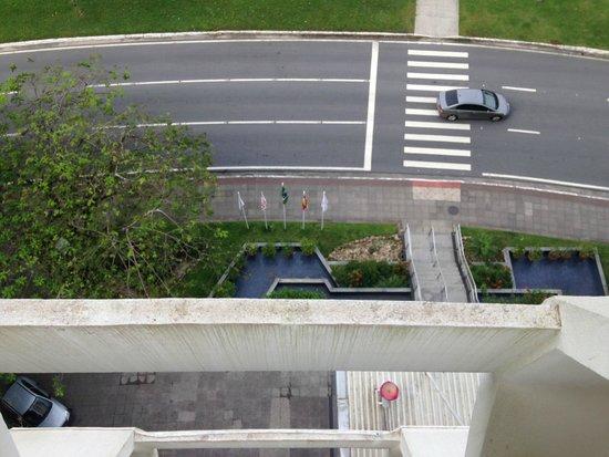 Intercity Florianopolis: Vista do quarto, olhando para baixo