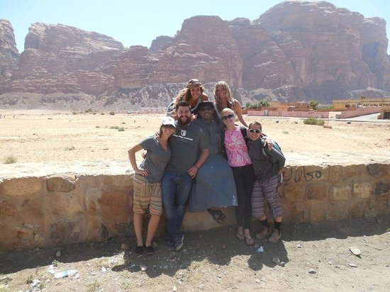 Wadi Rum Full Moon Camp : Our friend :)