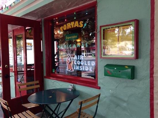 Joe's Taco Lounge & Salsaria: lighthearted decor but they take the food seroiusly