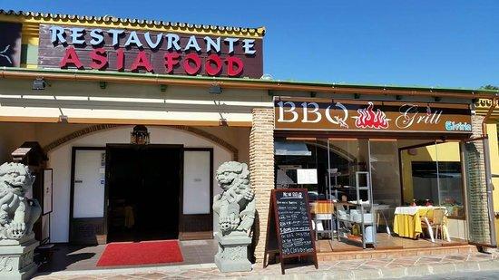 Restaurante Asia Food: REST. ASIA FOOD & BBQ GRILL.