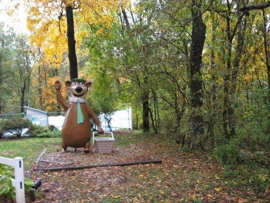 Yogi Bear's Jellystone Park Camp-Resort Hagerstown: The greeter - lol