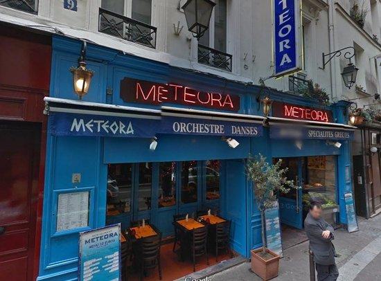 Meteora parigi od on saint michel ristorante for Miglior ristorante di parigi