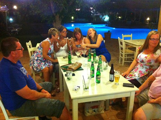 Lefka Apartments: More Chilling .... and drinking!
