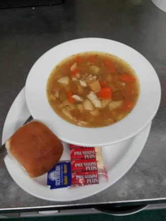 Boularderie, Canada: Homemade Turkey Soup