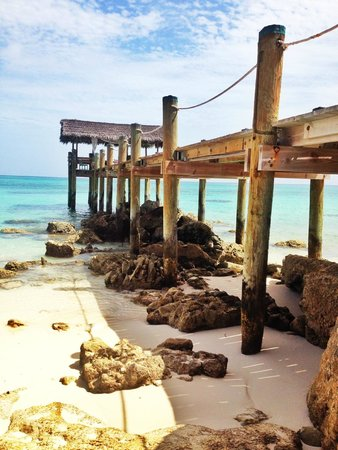 Compass Point Beach Resort: Morning spent at the dock