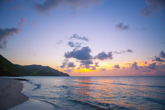 Renaissance St. Croix Carambola Beach Resort & Spa: Stunning sunset at the Renaissance St. Croix