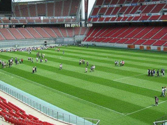 Toyota Stadium: スタジアムの中
