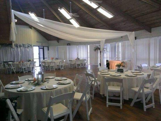 Rockport Beach: Saltwater Pavilion indoors