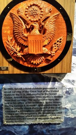 National Cryptologic Museum: Presidential Spy Seal