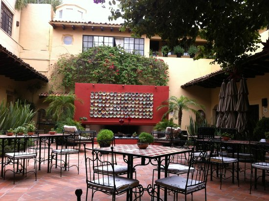 Hacienda El Santuario: Zona de Comedor