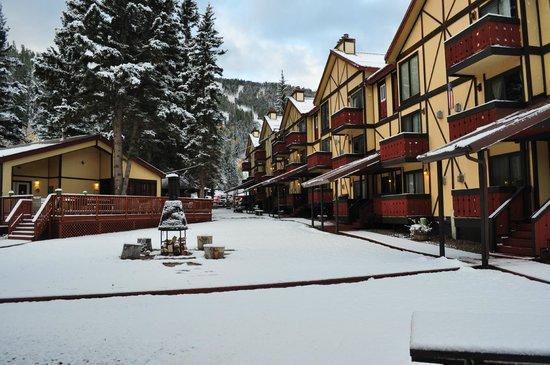 Auslander Condominiums: First Snow