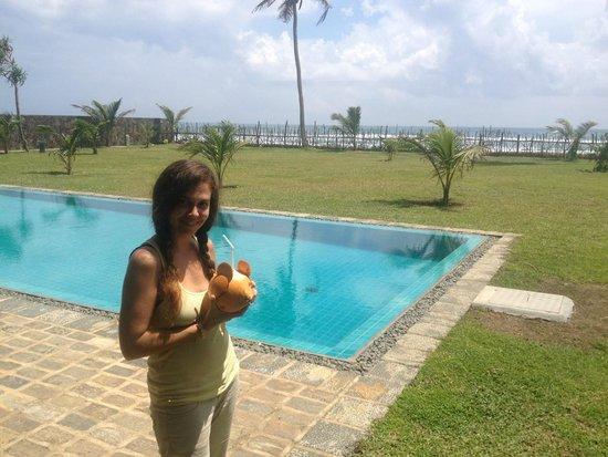Villa Atulya: Welcome drink