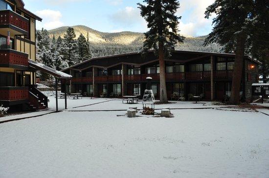Auslander Condominiums: Snowy Mountains
