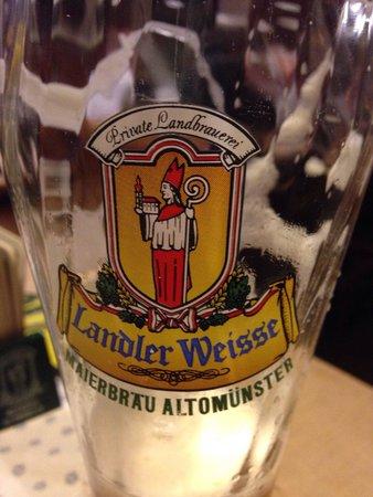 Altomunster, Allemagne : Lekker Weizen bier