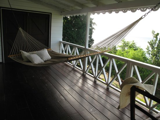 Anse Cochon, Saint Lucia: The hammock