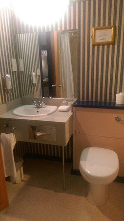 Musty Dated Bathroom Picture Of Damons Hotel Lincoln