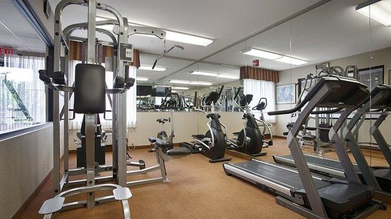 BEST WESTERN Executive Inn: Fitness Center