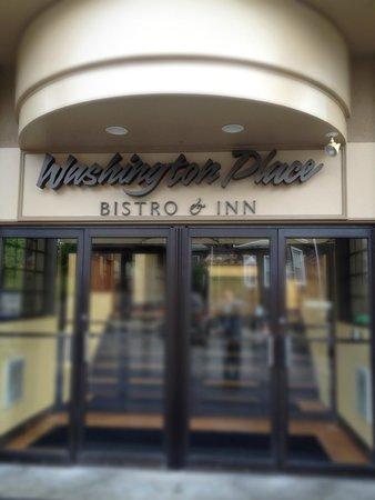 Washington Place: Entrance