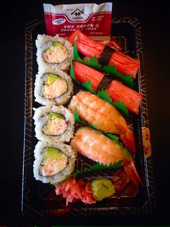 Han the Sushi Man : To Go Nigiri Roll Combo 6.99