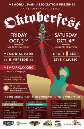 Oktoberfest in Memorial Park (October 2014)
