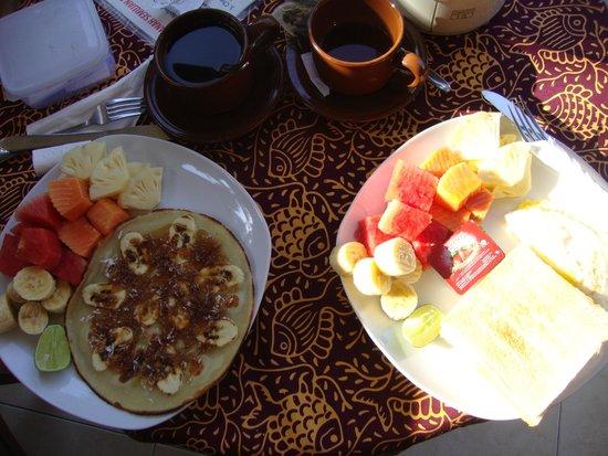 Tanah Semujan Ubud : petit déjeuner