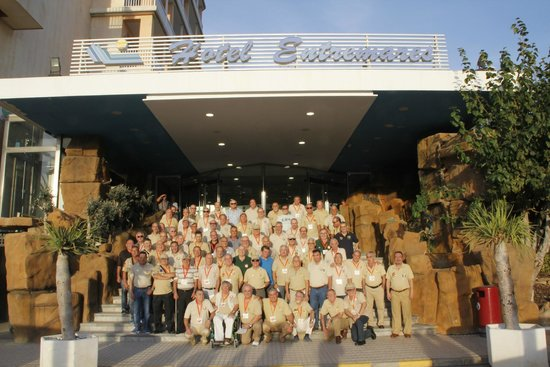 Hotel Entremares: Parte del Grupo de Veteranos del Sahara