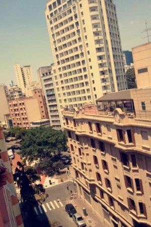 Terra Nobre Plaza Hotel: Vista do 7/8 andar