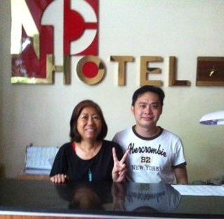 Minh Chau Hotel: Lady boss and I