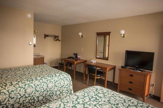 Tok, AK: Motel Room Flat Screen TVs