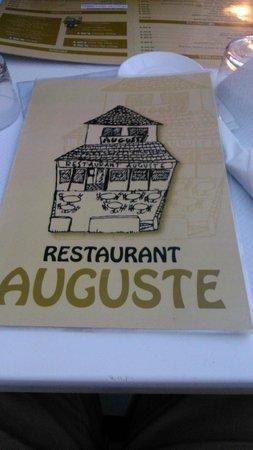 Auguste: Superbe terrasse par beau temps