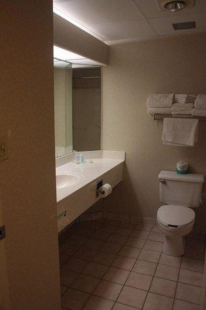 Comfort Suites: Nice bath