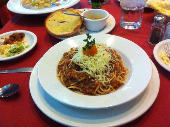 JUDE Bistro & Bar: spagetti bolanese