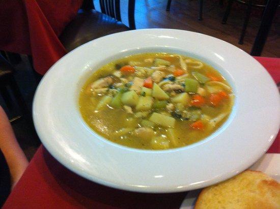 JUDE Bistro & Bar: chicken soup