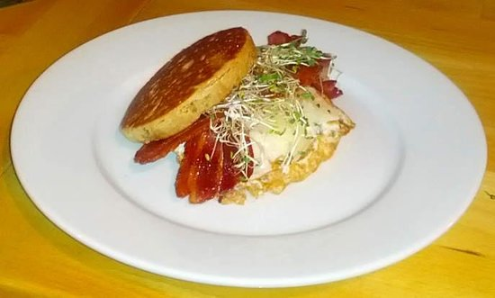 Breakfast Sandwich - available anytime - Picture of Murgatroid ...
