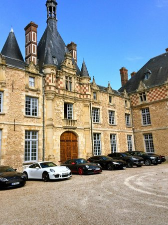 Chateau d'Esclimont: Special clients :-)