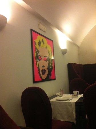 Hotel Palazzo Decumani : No café da manhã!