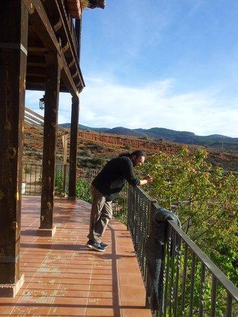 La Posada de Santa Ana: VERANDA DEL HOTEL