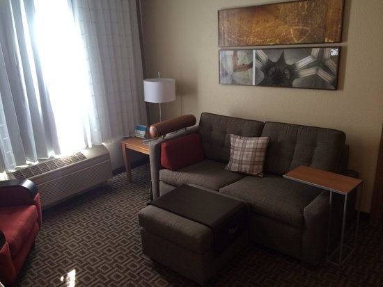 TownePlace Suites Phoenix North The New Living Room Furniture And Carpet In Two