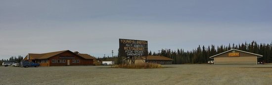 Tok, AK: Young's Motel Located Near Fast Eddy's