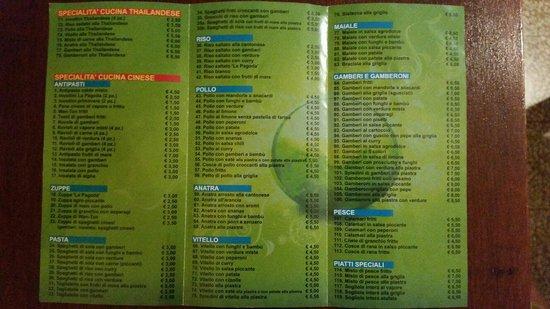 La pagoda dalmine ristorante recensioni numero di for Menu cinese