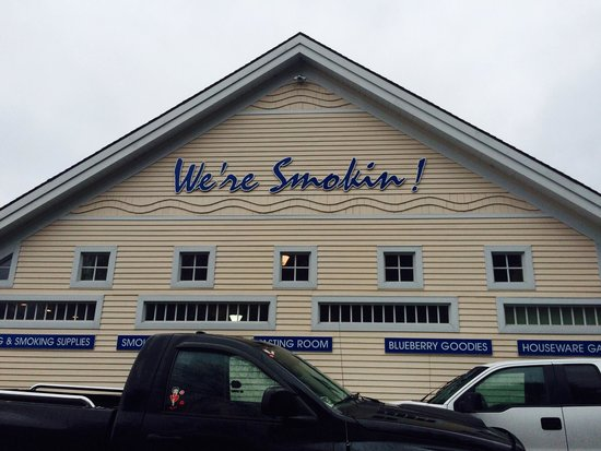 Sullivan, ME: Excellent smoked seafood products.