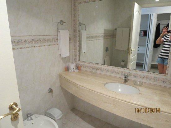 Parque Hotel Jean Clevers : banheiro muito limpo